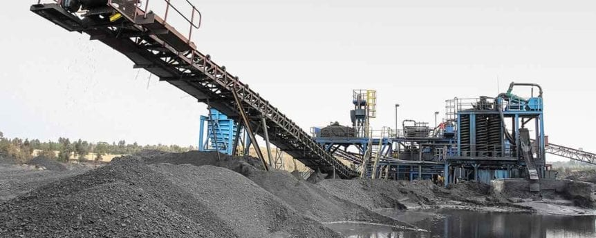 Coal Mining and processing in South Africa