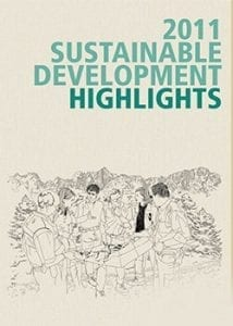 illustration of sustainable development 2011