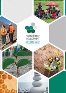 illustration of sustainable development 2012
