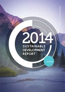 illustration of sustainable development 2014