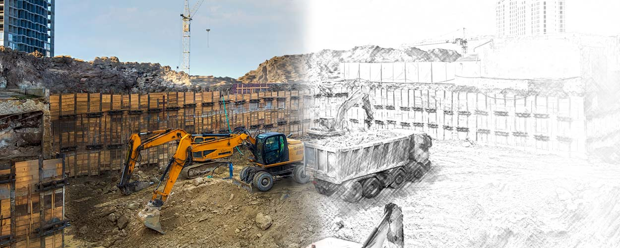 When to use 3D effects in shoring designs for deep excavations