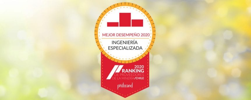 Golder Named Best Specialized Engineering Company in Chile in Mining Supplier Ranking Survey