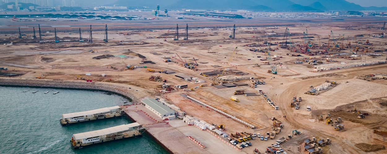 Supporting the Expansion of Hong Kong International Airport