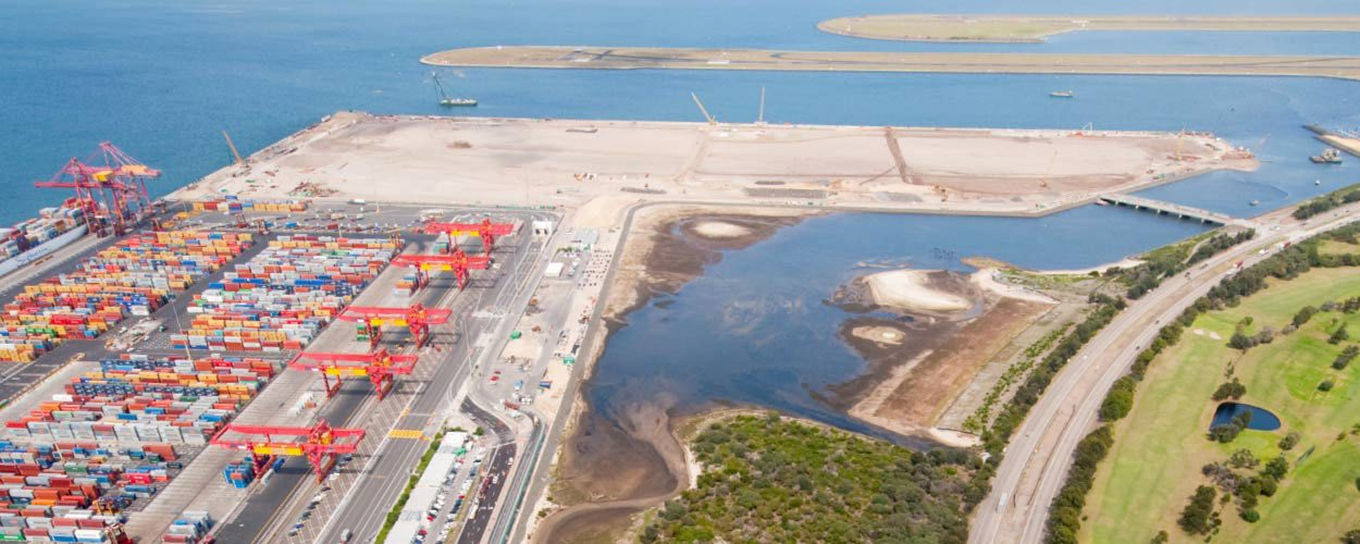 Golder Supports Major Expansion of Sydney's Port Botany Container Port