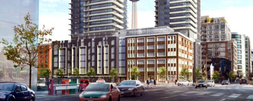 Dancing towards a new use for the former Westinghouse building in Toronto